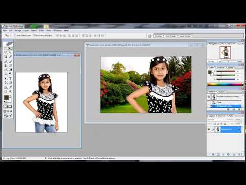 How to photos Background Change photoshop ( Bangla tutorial)