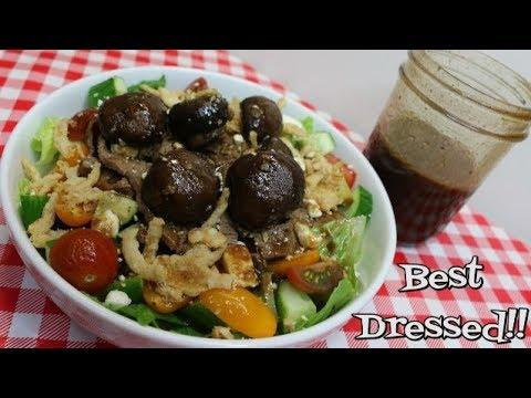 Spicy Honey Balsamic Viniagrette ~ Homemade Salad Dressing ~ Easy Vinaigrette ~ Noreen's Kitchen