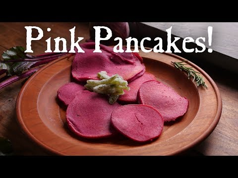 Turning Beets into Pancakes - A Recipe from 1803