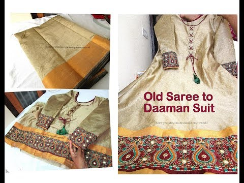 Daaman Suit with Measurements Cutting and Stitching - Complete Tutorial