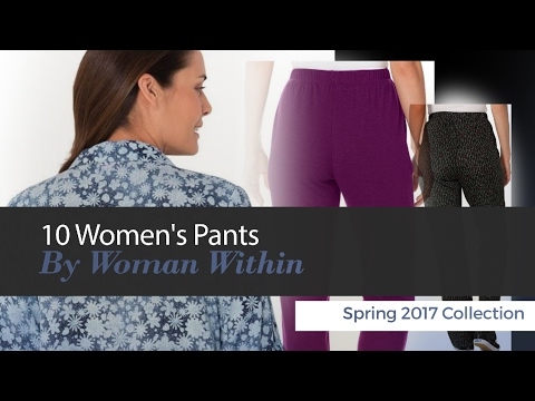b02ae346faf 10 Women s Pants By Woman Within Spring 2017 Collection - Ladies ...