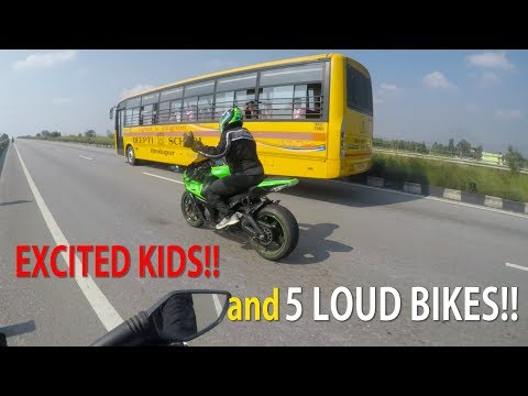 Xxx Mp4 Kids Get Excited Seeing Superbikes 5 Loud Bikes BANGALORE INDIA 21 3gp Sex