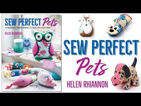 Sew Perfect Pets by Helen Rhiannon   Book Trailer