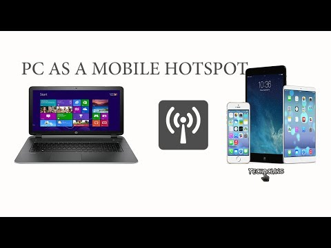 TURN YOUR WINDOWS 10 PC INTO A MOBILE HOTSPOT