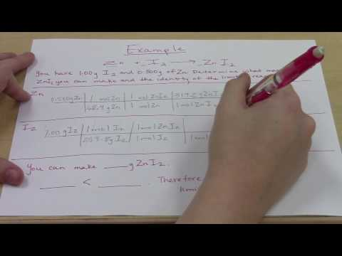 How to Determine the Limiting Reactant