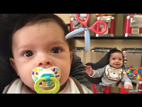 BABIES FIRST HAIRCUT!