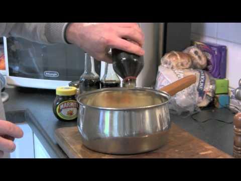 Roast Parsnip & Carrott glaze / marinade.