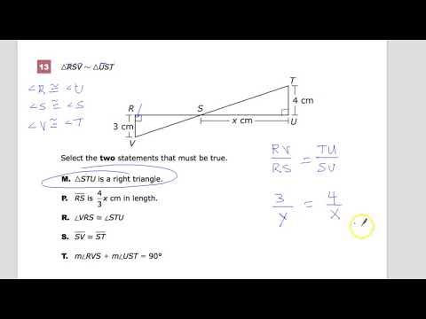 Question 13 - Geometry - TnReady Practice Test