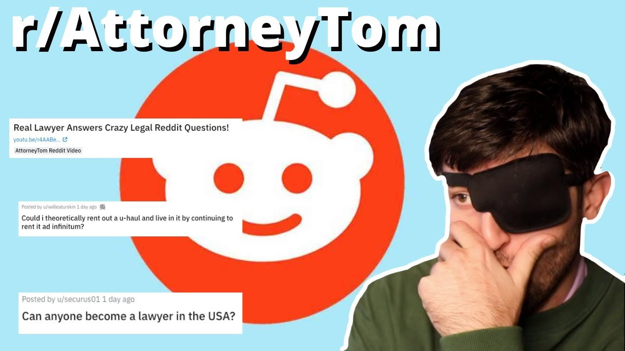 Lawyer Reacts To Crazy Reddit Questions PART 2