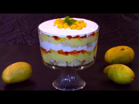 How to Make Mango Trifle Dessert