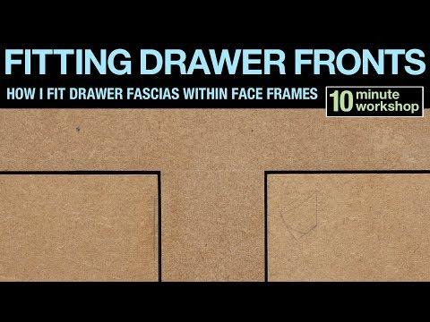 Drawer fascias #180