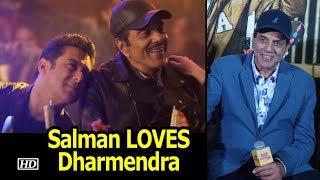 Salman LOVES Dharmendra | shares a CLOSE BOND | Rafta Rafta Medley