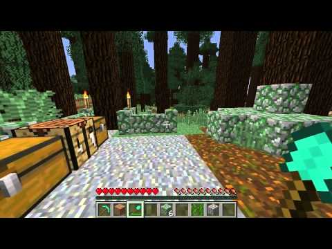 Minecraft Generated Structures: Mossy Boulder