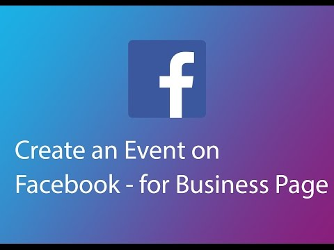 Create an Event on Facebook   for Business Page 2016
