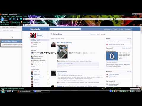 How to Use Facebook Chat in Sidebar