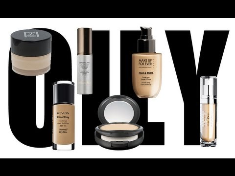 THE BEST FOUNDATIONS FOR OILY SKIN!