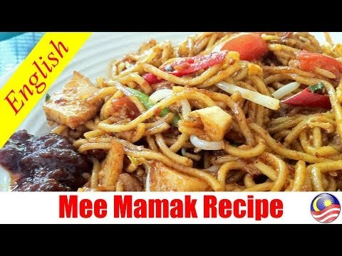 How to Cook: Mee Mamak (Authentic Indian Muslim Stir-Fry Noodles)