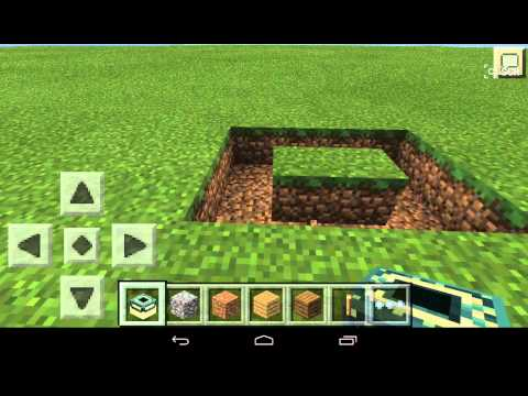 How to make end portal (MINECRAFT PE)