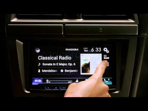Pandora in the Car:  Pioneer NEX4000