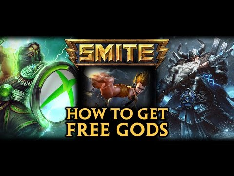 How to Get a few FREE GODS fast for SMITE on PS4, PC, & XBOX One + PC to PS4 / XBOX LINK & COPY