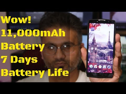 This Android Smartphone has 11,000mAh Battery & 7 Days Battery Life.