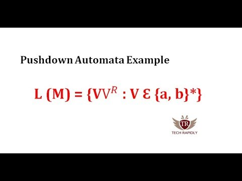 Pushdown Automata Examples In Hindi/Urdu | Basic To Expert Level