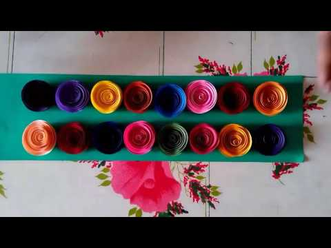 SIMPLE QUILLING ROSES    PAPER ROSES