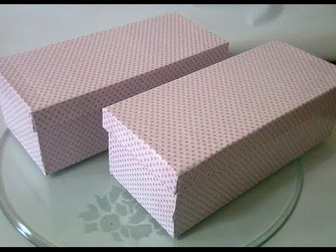 DIY : #7 How To Wrap Your Shoebox ♥