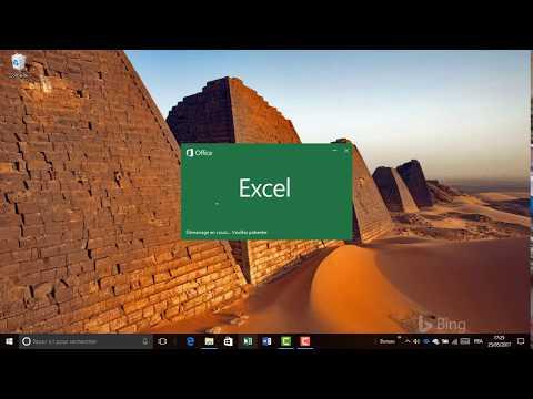 Excel - Changer les couleurs au démarrage