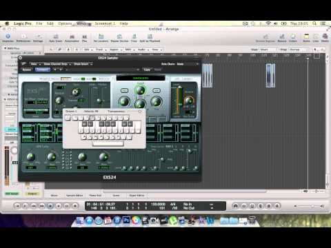 Making Hiphop  - Cutting & Sampling with the EXS24 in Logic Pro