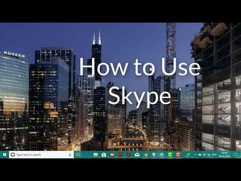 How to Use Skype | create a Skype account step by step