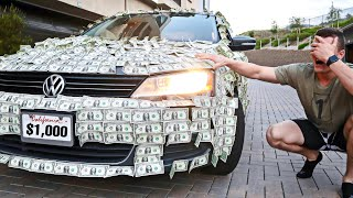 Does Covering My Brother's Car With 1,000 Dollar Bills Count As A Prank?