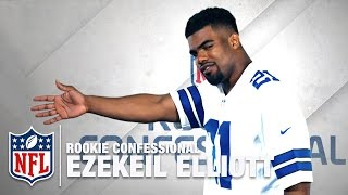 "Ezekiel Elliott ""My signature go to move is..."" | Rookie Confessional | NFL Network"