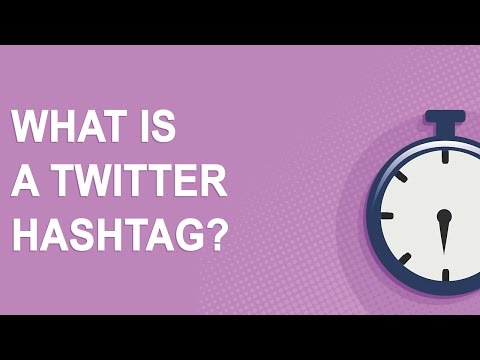 What is a Twitter Hashtag?
