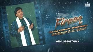 Main Jab Bhi Tanha Hota Hu - Ghazal Maestro  Zulfiqar A.K. Sabri | Firaaq I