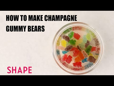How to Make Champagne Gummy Bears