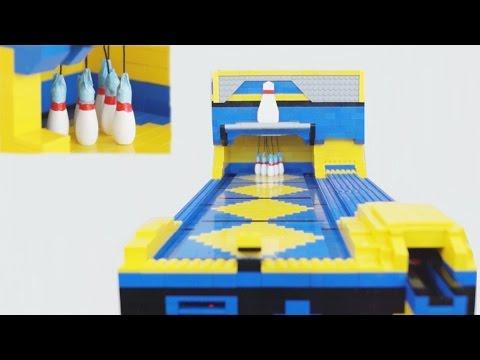 Automatic Lego Bowling Machine