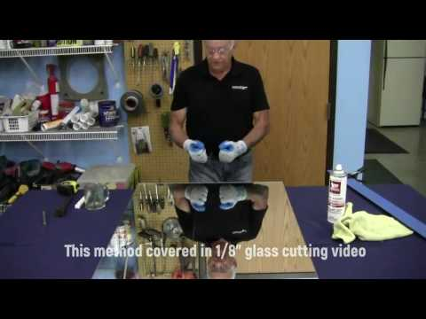 Glass Cutting with Guy (Part 2 - 1/4