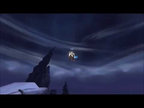 World Of Warcraft - Flying in Draenor! (Funny!)