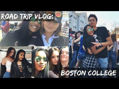 ROAD TRIP VLOG: Boston College