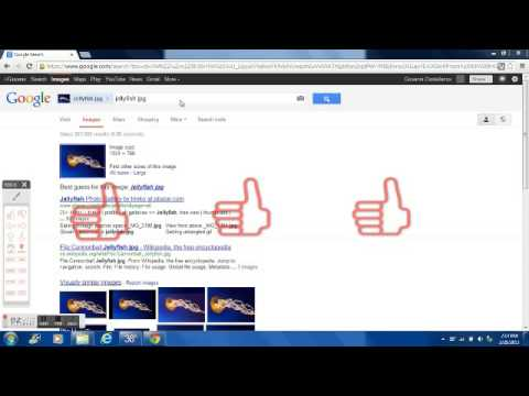 How to upload pic on Google image