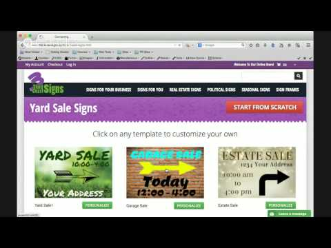 Cheap custom yard signs online review
