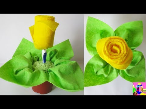 DIY Washcloth Rose Tutorial | Towel Folding Flower | Baby Shower Ideas | Роза из полотенца
