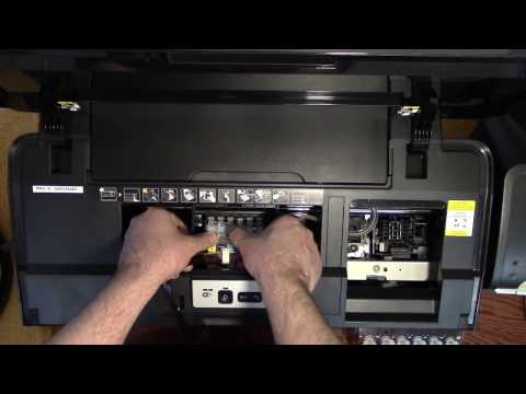 Epson 1430 CISS Install a continuous ink system how to