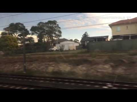 Train Ride: Petrie To Bowen Hills Express February 2017