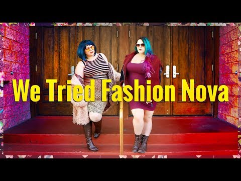 WE TRIED FASHION NOVA PT 1 | Honest Plus-Size Review & Try On Haul