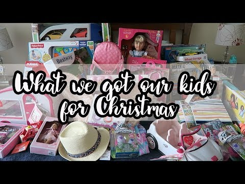 What we got our kids for Christmas! 2017 | Vlogmas