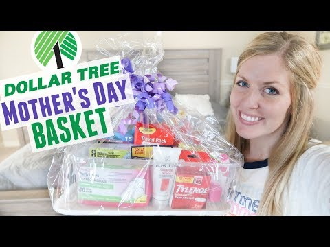 Dollar Tree Mother's Day Gift Basket - UNDER $20! What to Get Mom for Mother's Day
