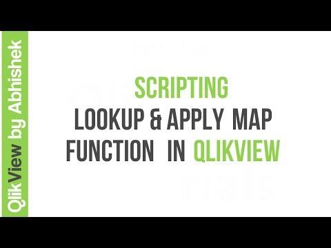 QlikView | Scripting | Lookup & ApplyMap Function