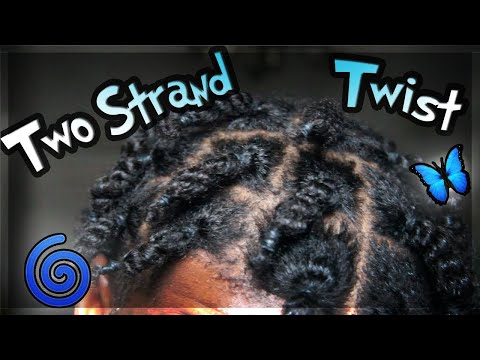 HOW TO: 2 Strand Twist On Natural Hair Tutorial
